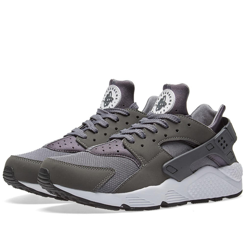 online store e9d4b 68357 Nike Air Huarache Dark Grey, White   Black   END.