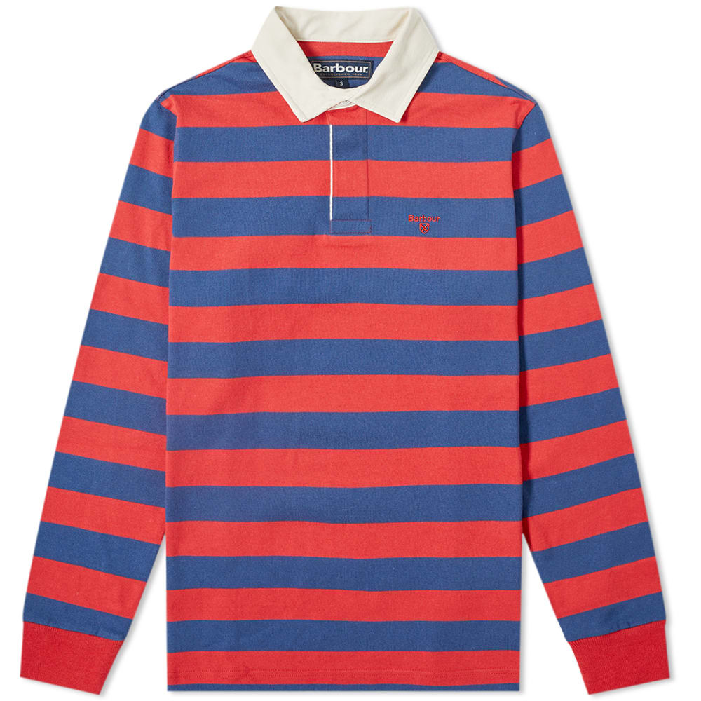 Barbour Dylan Stripe Rugby Shirt by Barbour