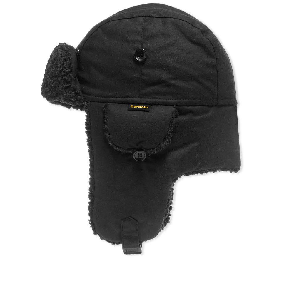 d544f2164ad1 Barbour Fleece Lined Trapper Black   END.