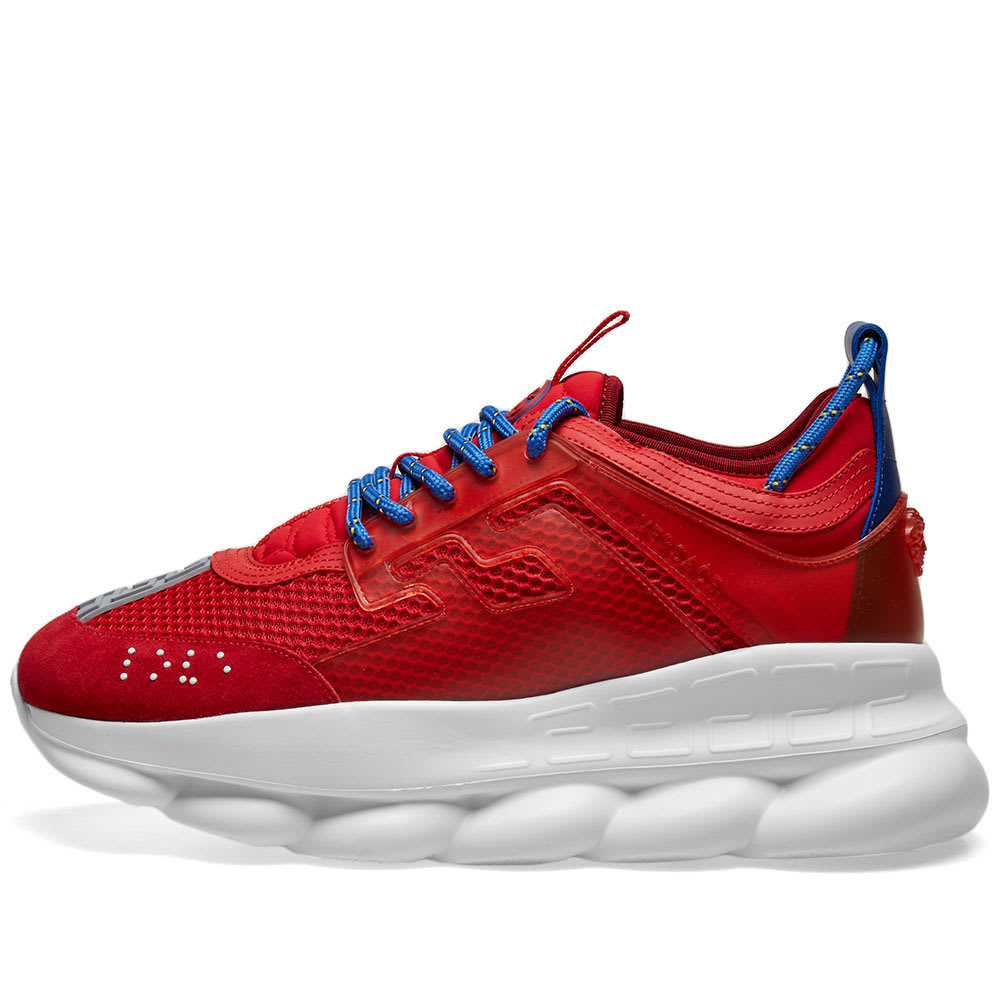 Versace Chain Reaction Sneaker Red | END.