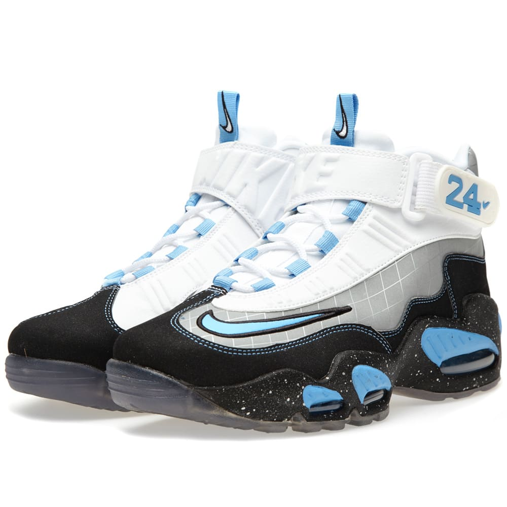 new product ee3c5 11376 Nike Air Griffey Max 1 Premium MLB All Star Pack QS Metallic Silver   END.