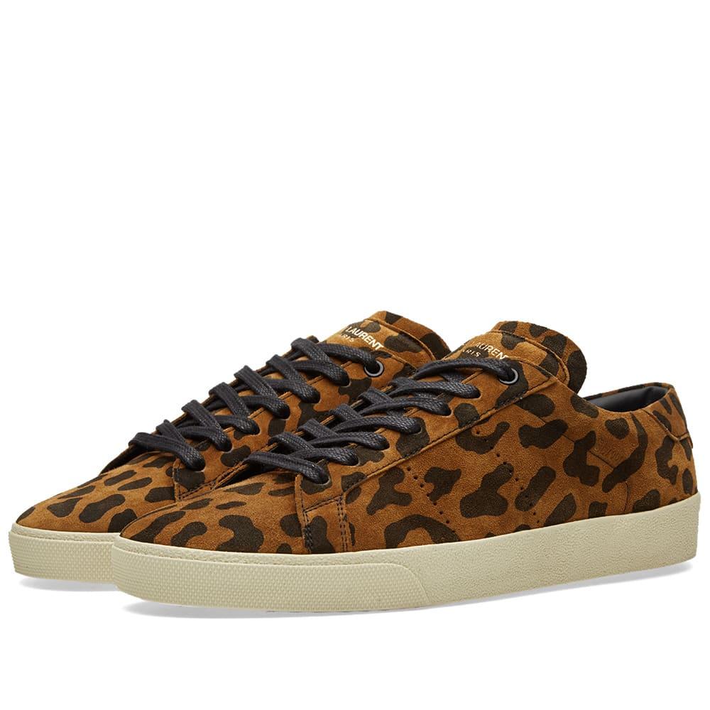Saint Laurent 06 Sneaker Leopard | END.