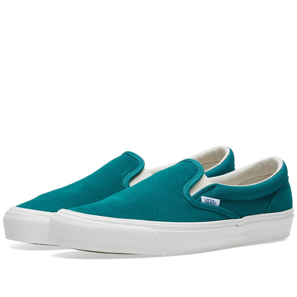 ... 98f16 70d65 Vans Vault Og Classic Slip On Lx In Green competitive price  ... f179414cf