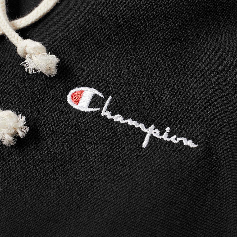 8703176faaba Champion Reverse Weave Women s Small Script Logo Hoody Black