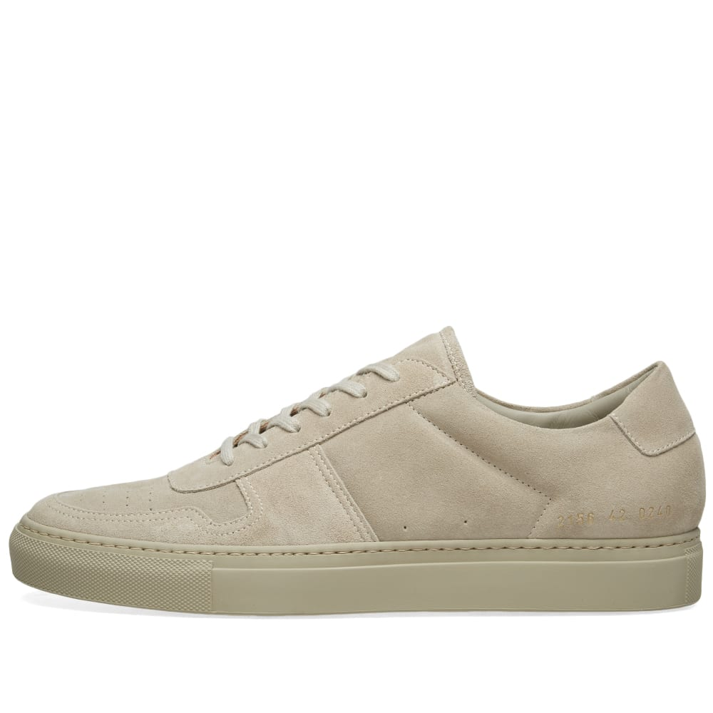 9835cd0bb71c05 Common Projects B-Ball Low Suede Taupe | END.