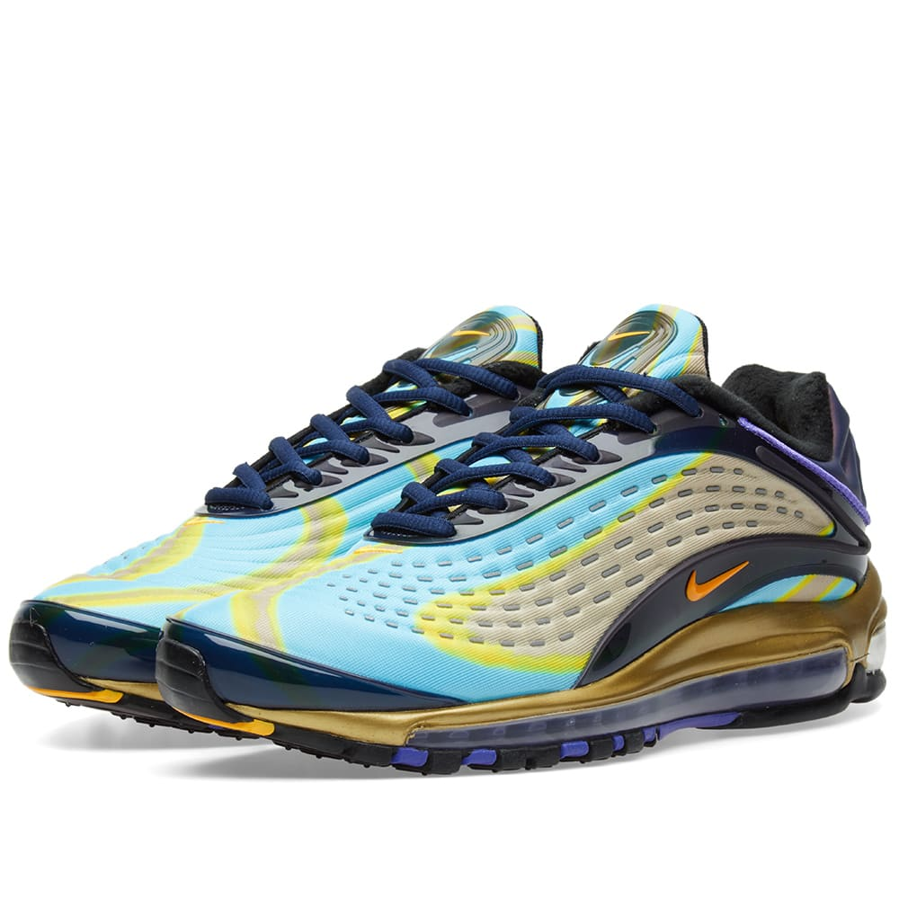 new product f79fe 50b7f Nike Air Max Deluxe Navy, Orange, Violet   Black   END.