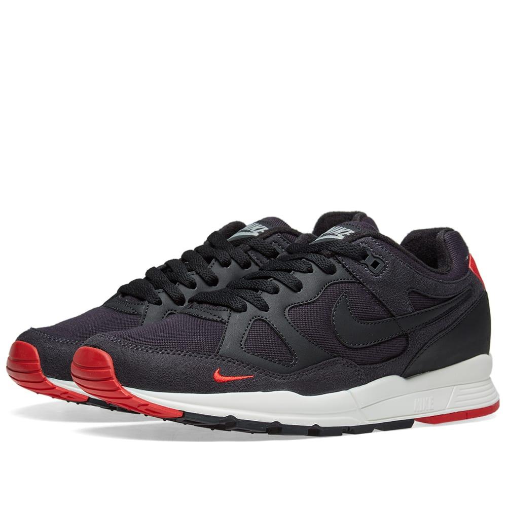 wholesale dealer bc5d8 62a36 Nike Air Span II SE Grey, Black, Red   Sail   END.