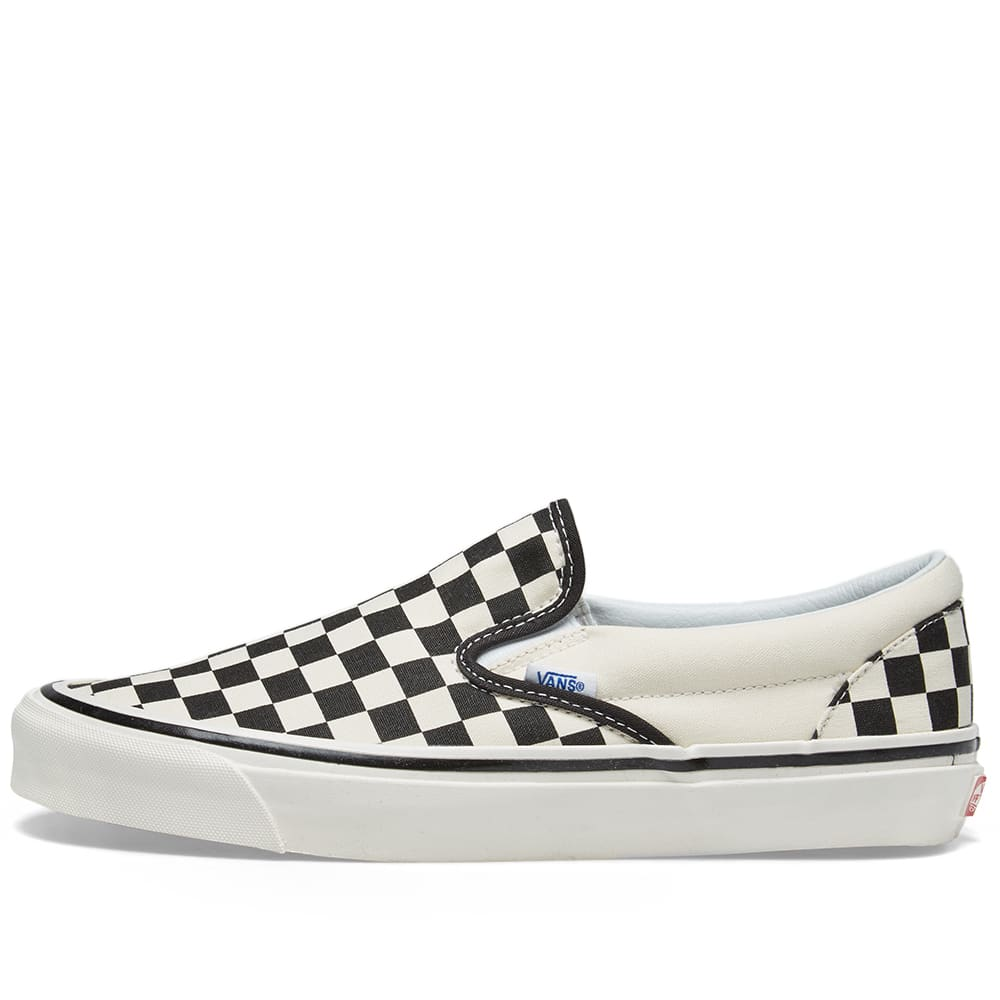 3b73085310fb Vans Classic Slip On 98 DX Checkerboard