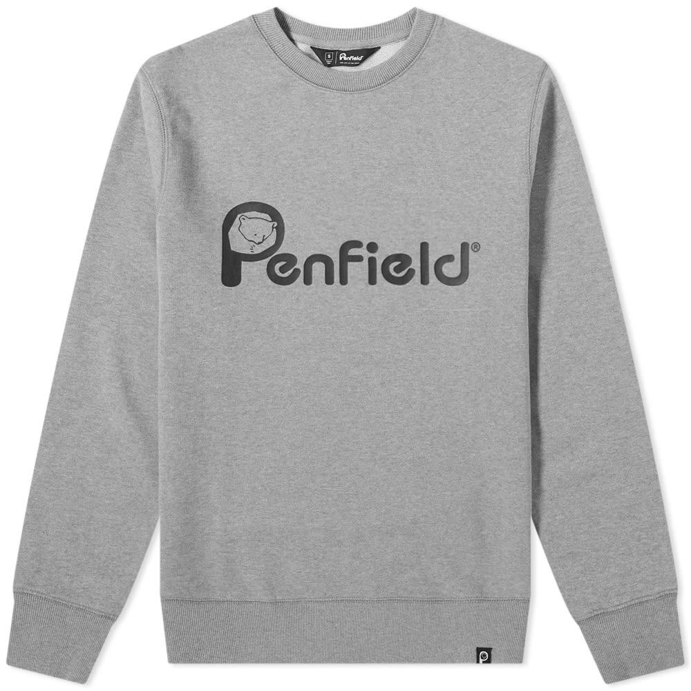 Penfield homme gris Capen Sweat