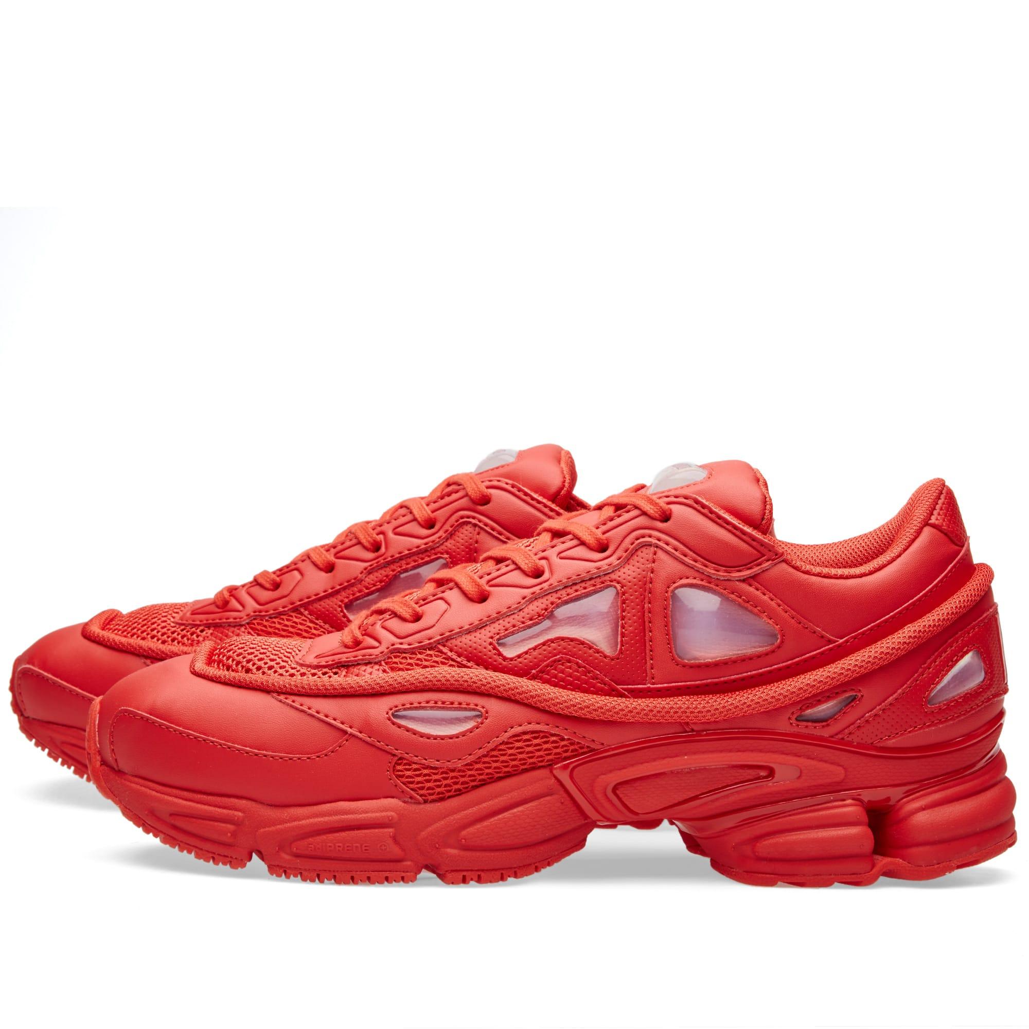 022505a98deb Adidas x Raf Simons Ozweego 2 Red