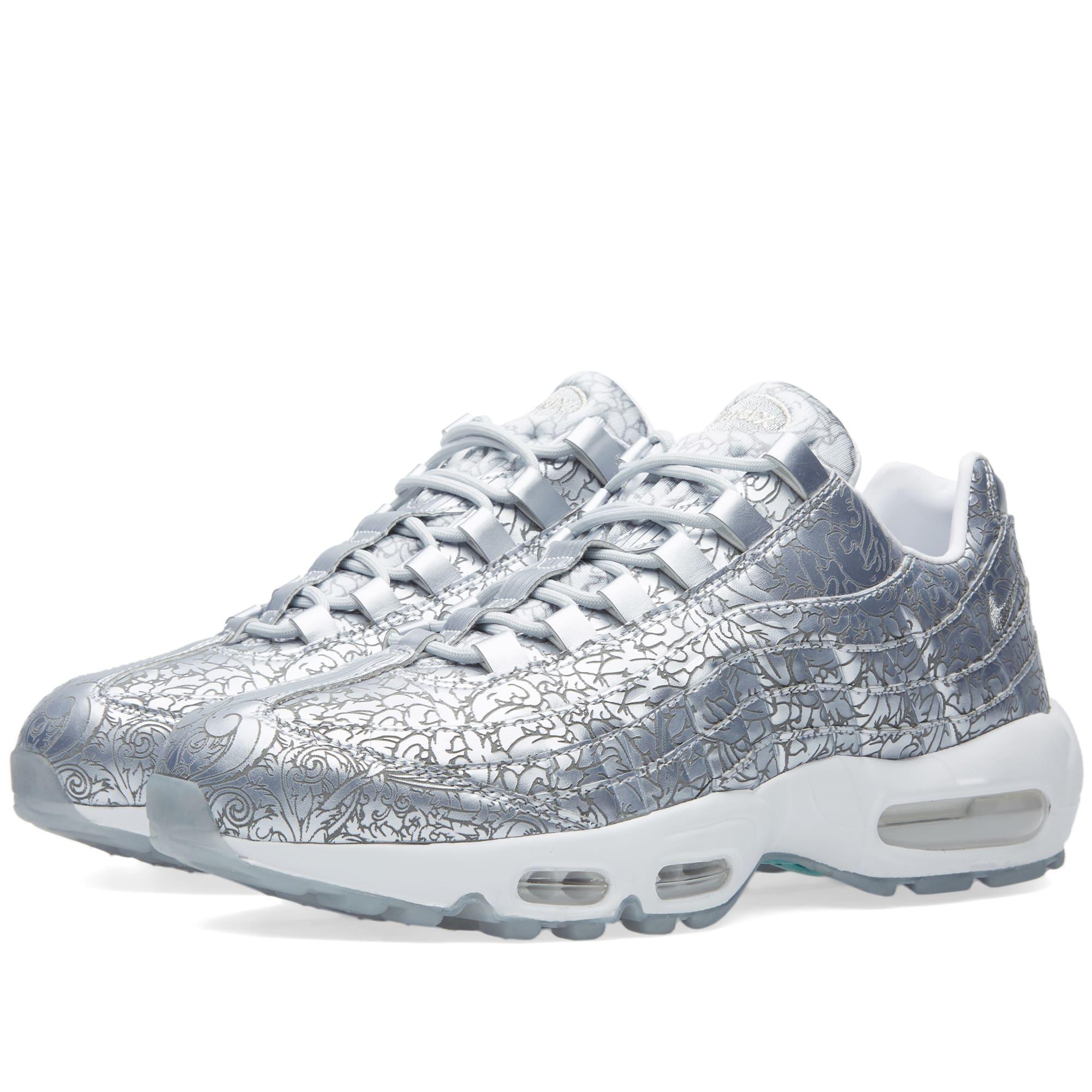 size 40 e3364 44441 Nike Air Max 95 Anniversary Pure Platinum   White   END.