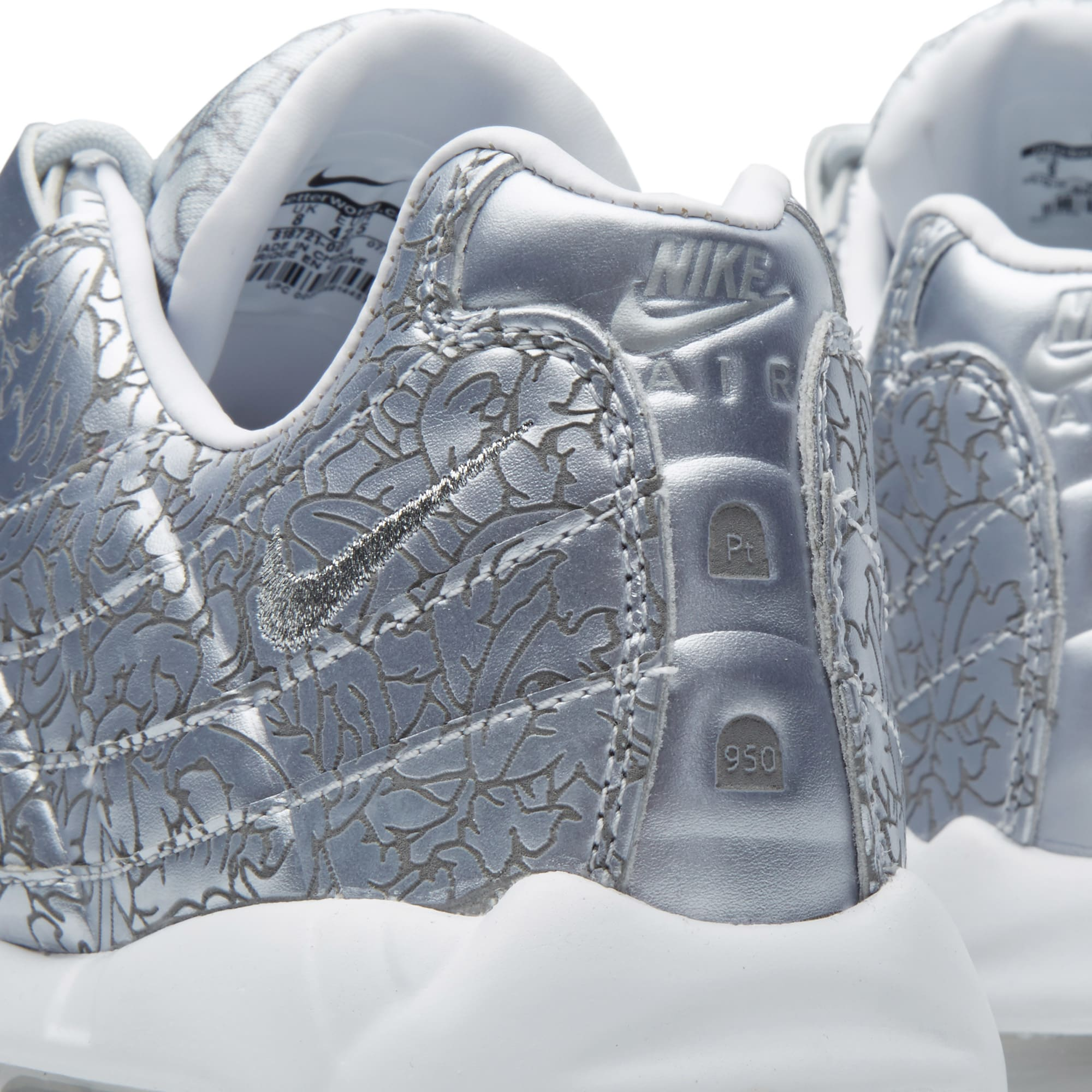 size 40 d78af 7be9e Nike Air Max 95 Anniversary Pure Platinum   White   END.