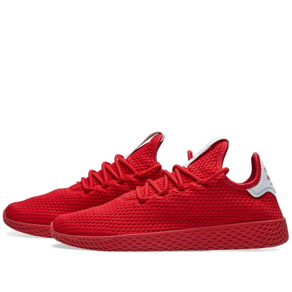33e29a740c385 Adidas x Pharrell Williams Tennis HU Scarlet