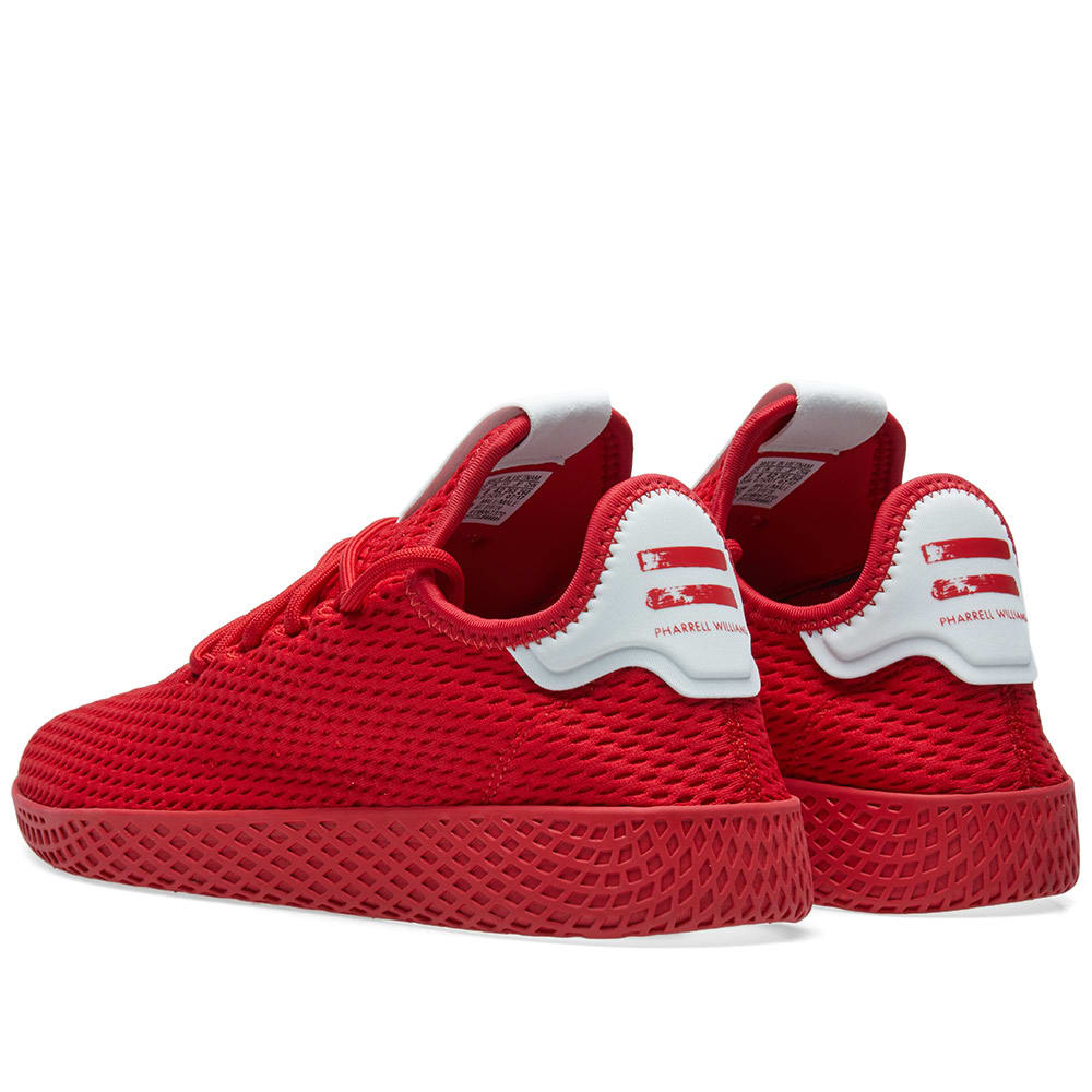 958a59e46 Adidas x Pharrell Williams Tennis HU Scarlet