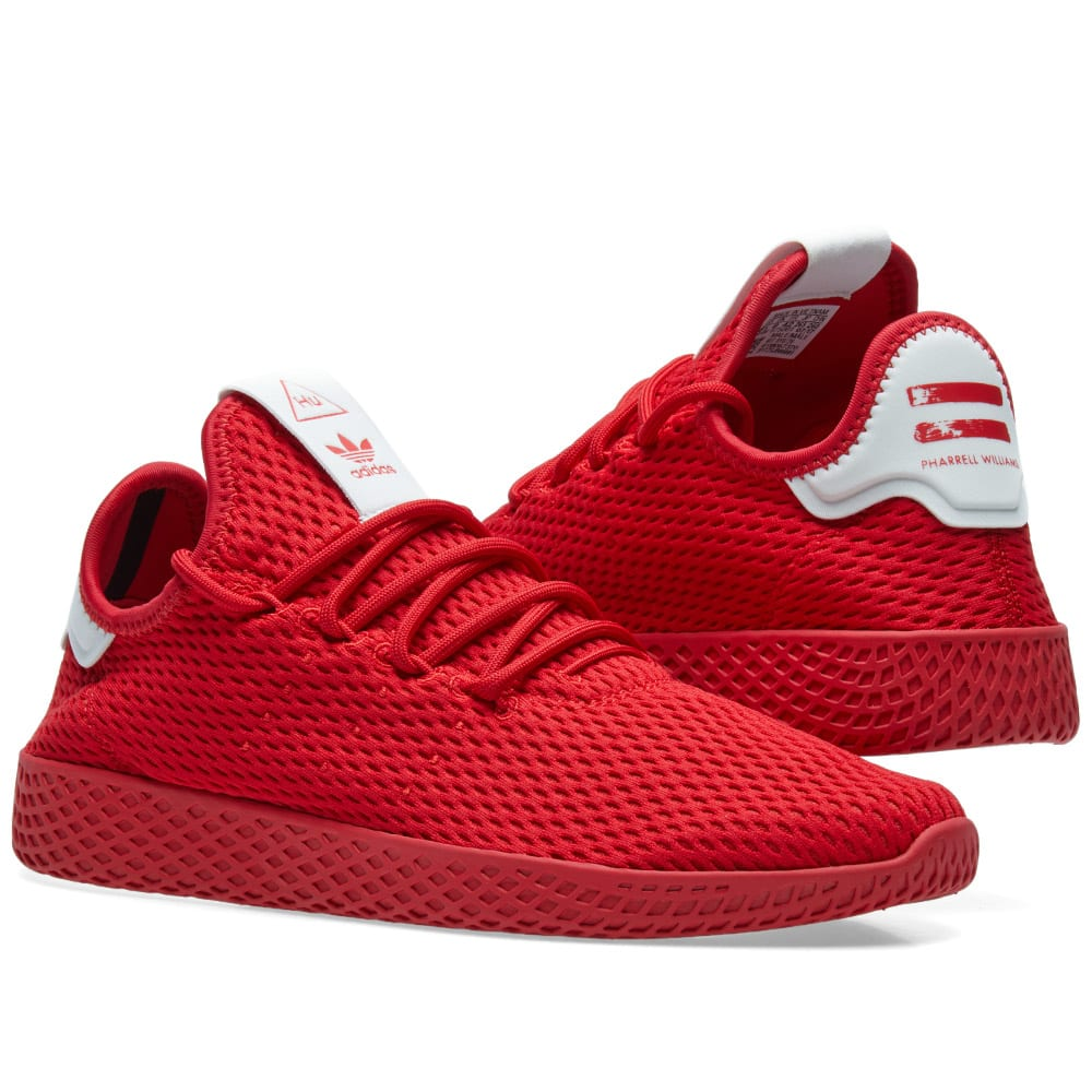 33e29a740c385 Adidas x Pharrell Williams Tennis HU Scarlet
