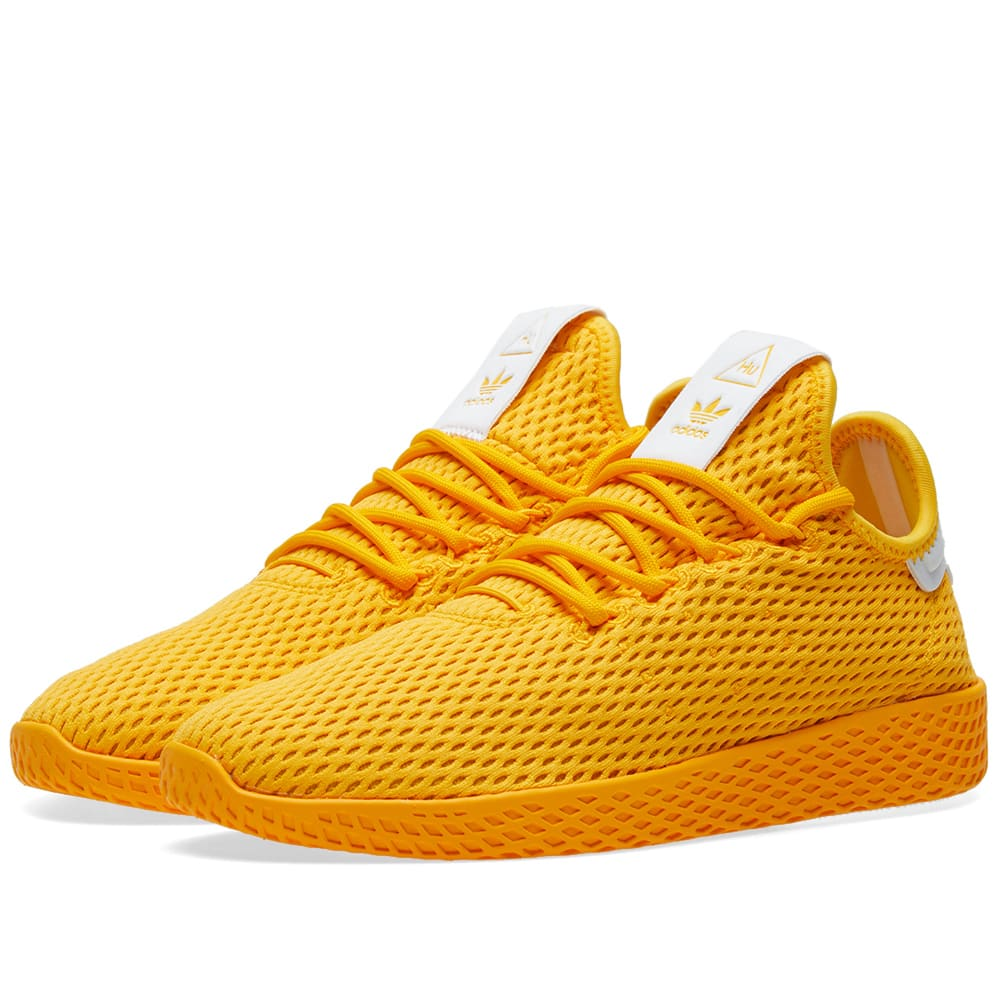 75b42e037 Adidas x Pharrell Williams Tennis HU Collegiate Gold   White
