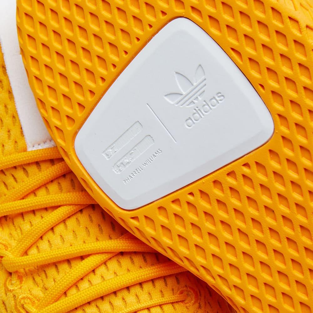 d1853d9e57c82 Adidas x Pharrell Williams Tennis HU Collegiate Gold   White