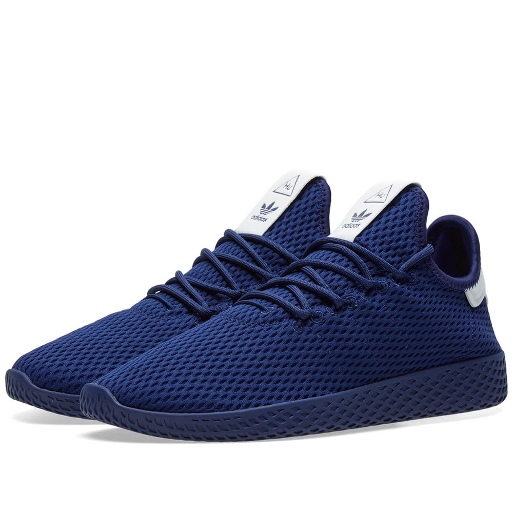 adidas pharrell tennis hu blue