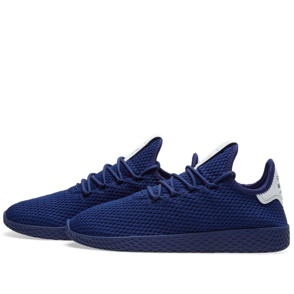 3e87597dc Adidas x Pharrell Williams Tennis Hu Dark Blue