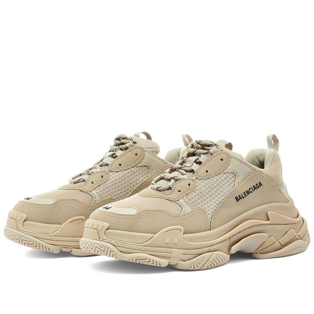 Balenciaga Triple S Sneaker Beige | END.