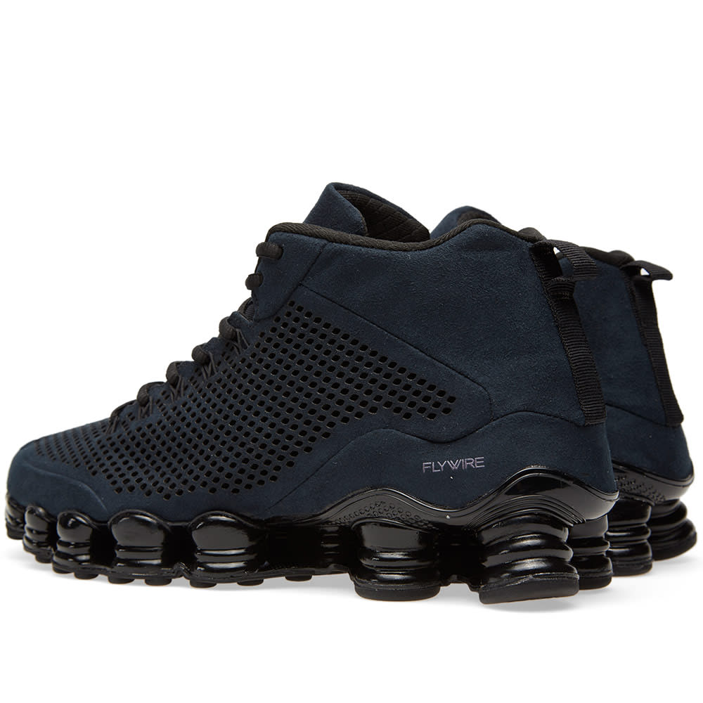 on sale b8f8d a31e6 Nike Shox TLX Mid SP Black | END.