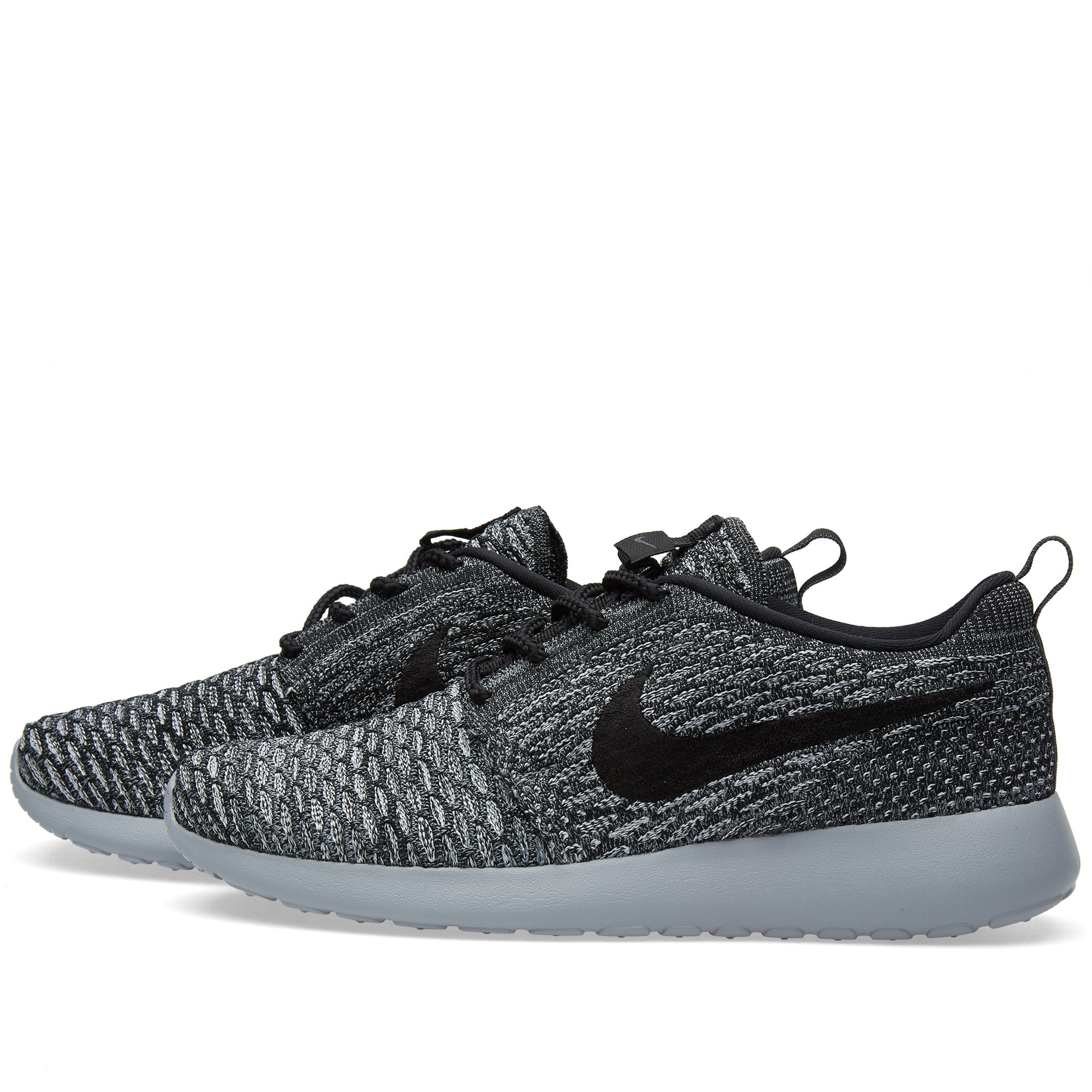 first rate e48e8 f5a32 Nike W Roshe One Flyknit Cool Grey   Black   END.