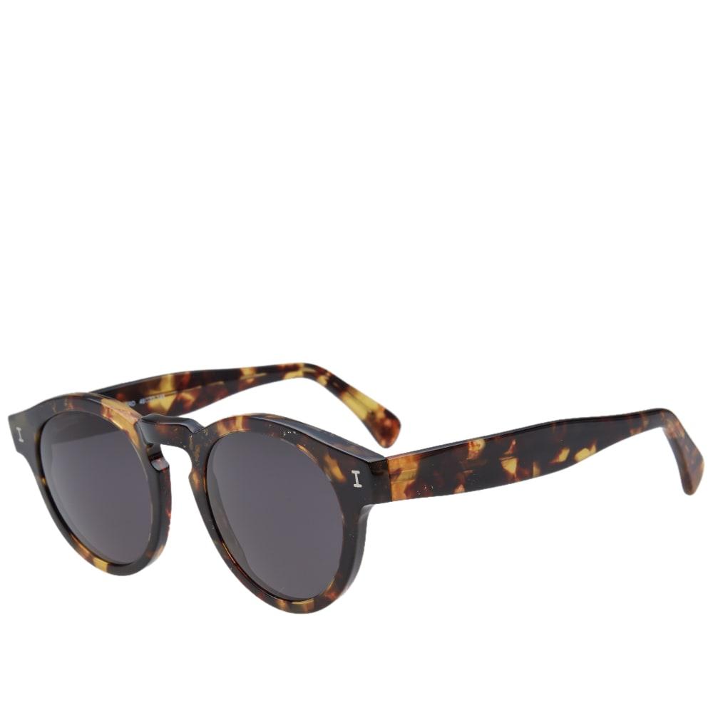 3f76de7bf194 Illesteva Leonard Sunglasses Amber Tortoise