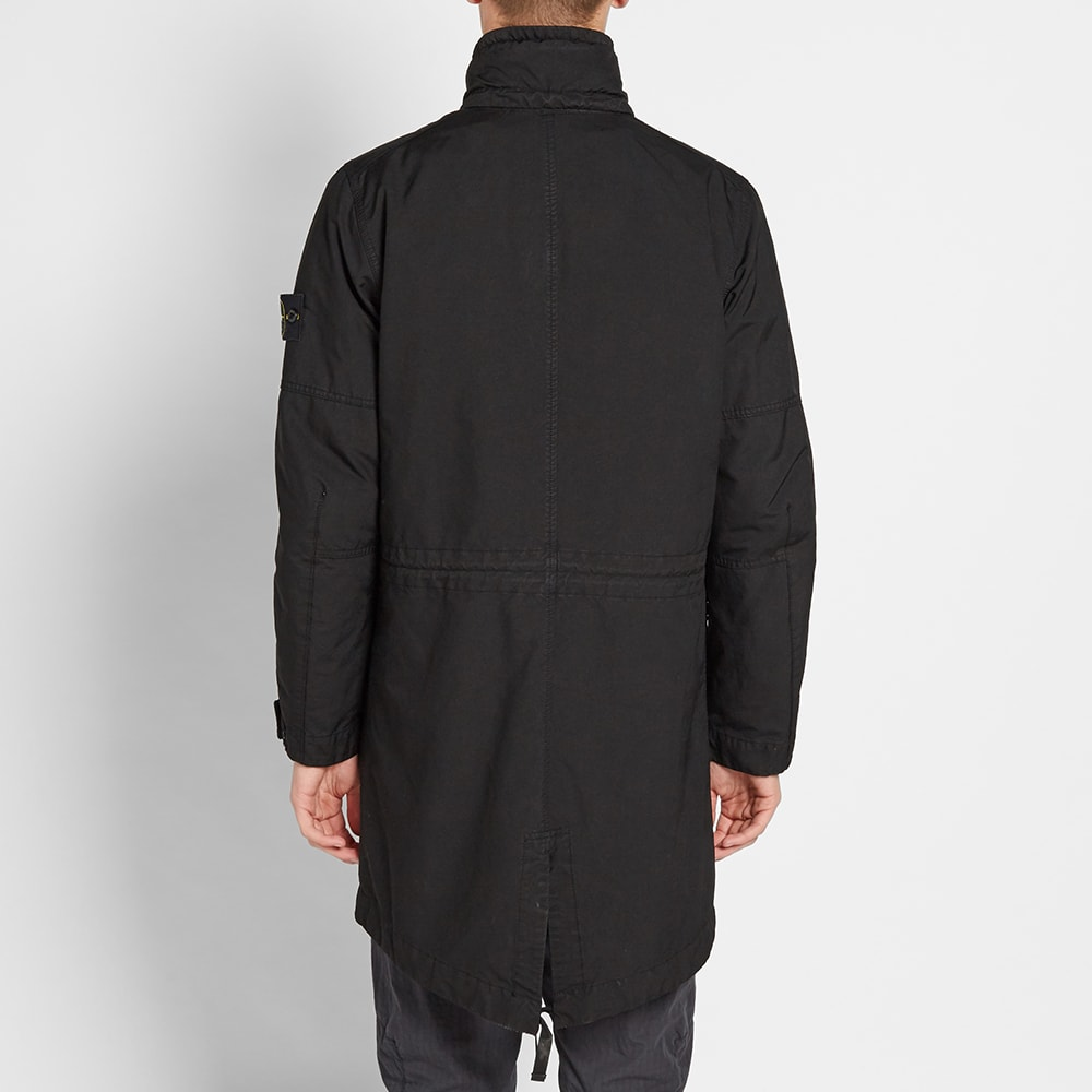 stone island david tc detachable lining parka black. Black Bedroom Furniture Sets. Home Design Ideas