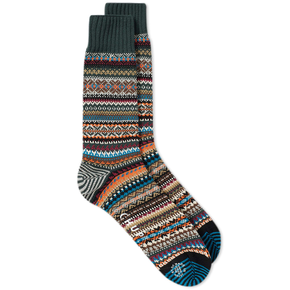 CHUP BY GLEN CLYDE COMPANY Chup Sein Sock in Green
