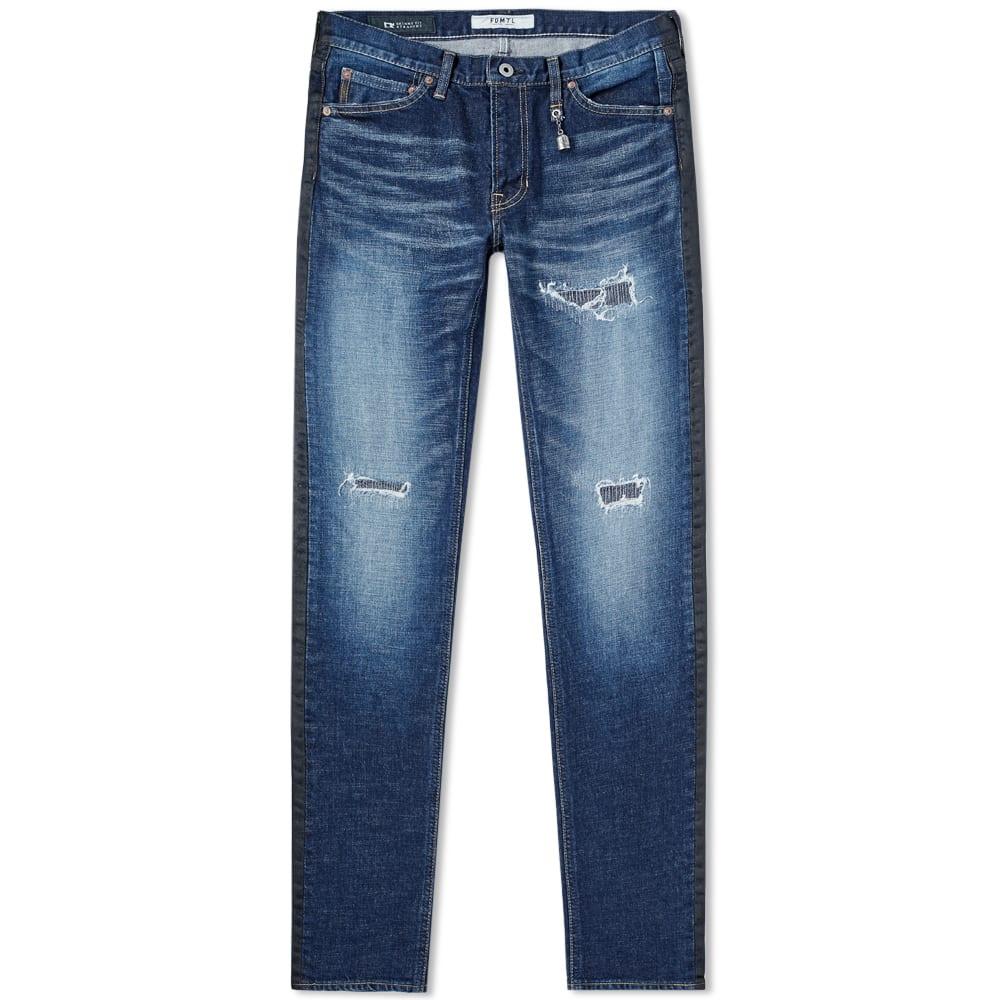 FDMTL Fdmtl Figure Skinny Fit Jean in Blue