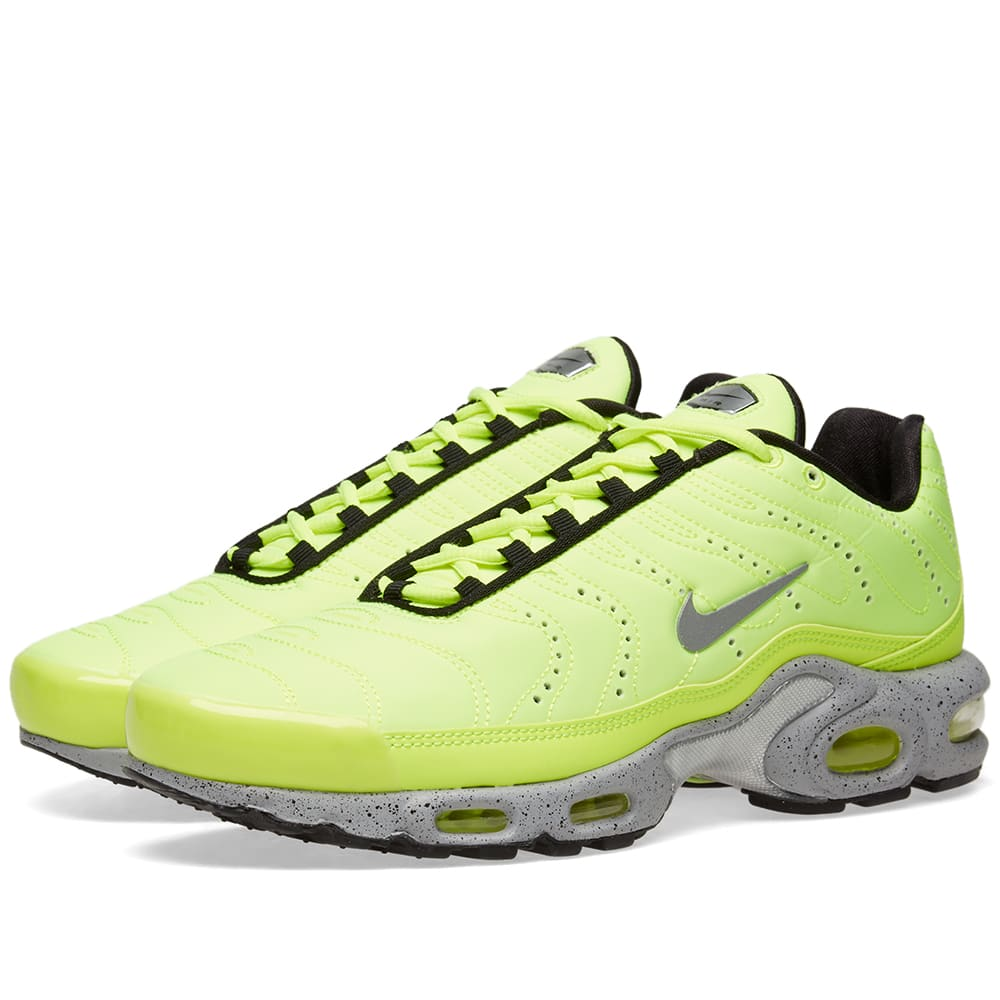Nike Air Max Plus Premium Full VoltMatte Silver 815994 700