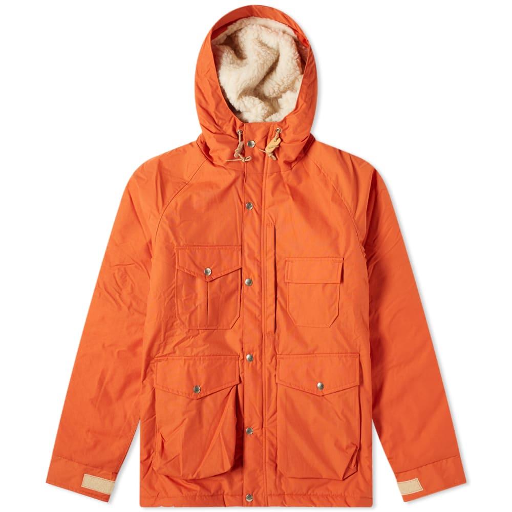 Battenwear Northfield Parka In Orange