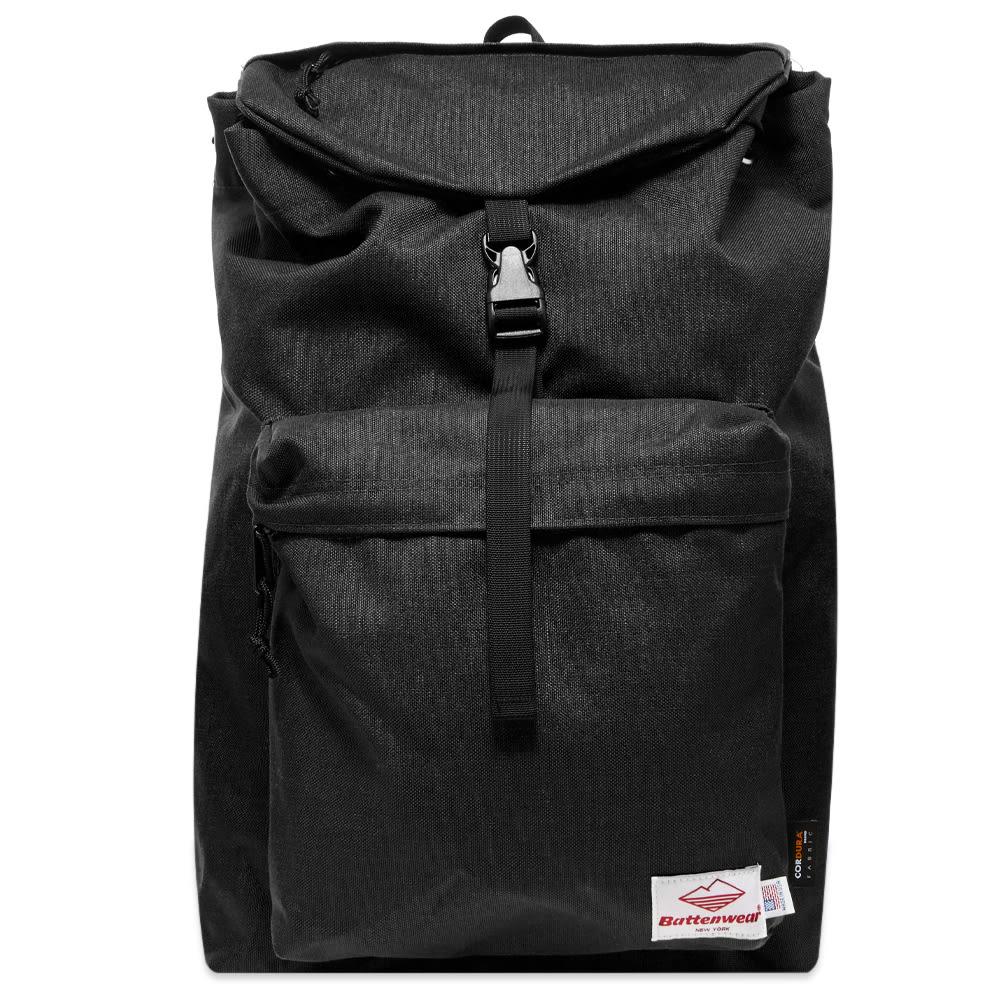 Battenwear Day Hiker Backpack In Black