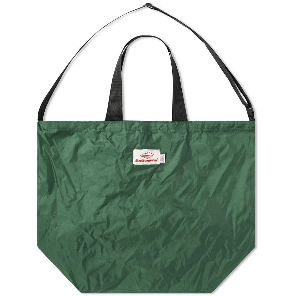Battenwear Packable Tote In Green