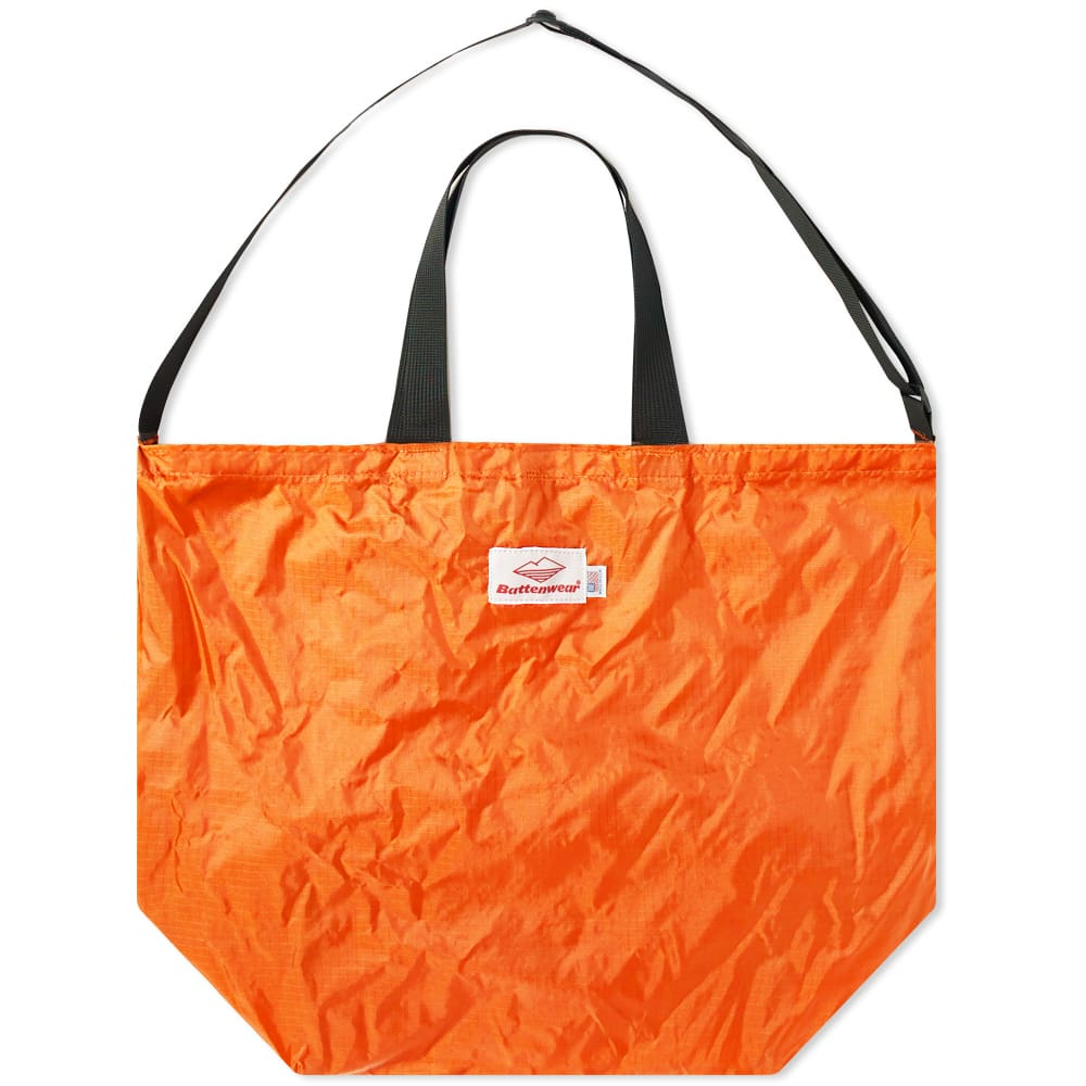 Battenwear Packable Tote In Orange