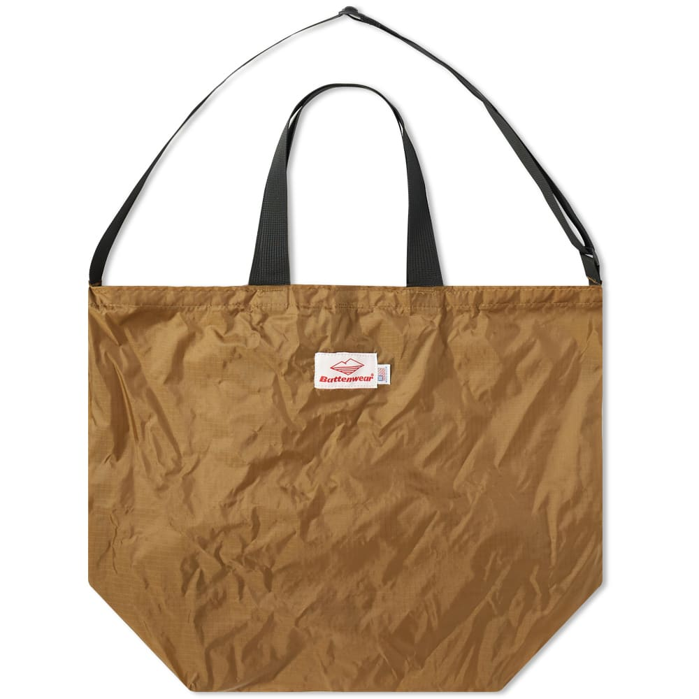 Battenwear Packable Tote In Brown