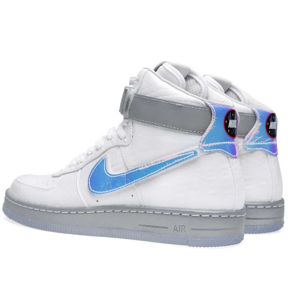 san francisco a5615 07b38 Nike Air Force 1 Downtown Hi LW QS  Hologram  White   END.
