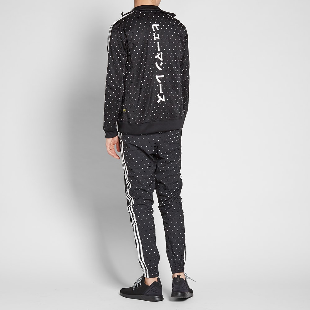 a36b47822cdf2 Adidas x Pharrell Williams Japanese Track Top Black   White