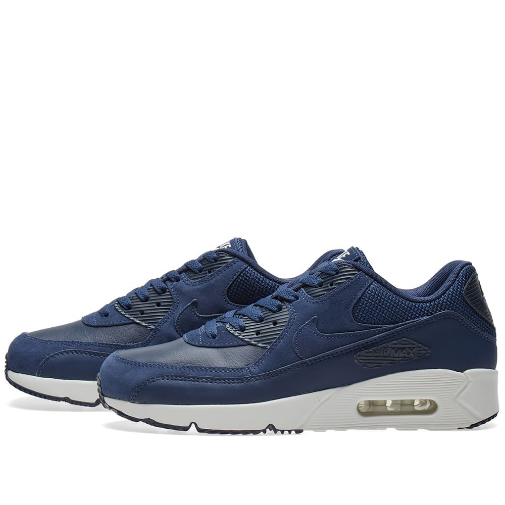 lowest price 5eebf 01366 Nike Air Max 90 Ultra 2.0 LTR Midnight Navy   Summit White   END.