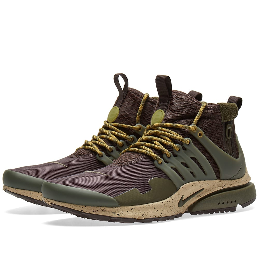 pretty nice b138f c96ea Nike Air Presto Mid Utility Velvet Brown   Cargo Khaki   END.