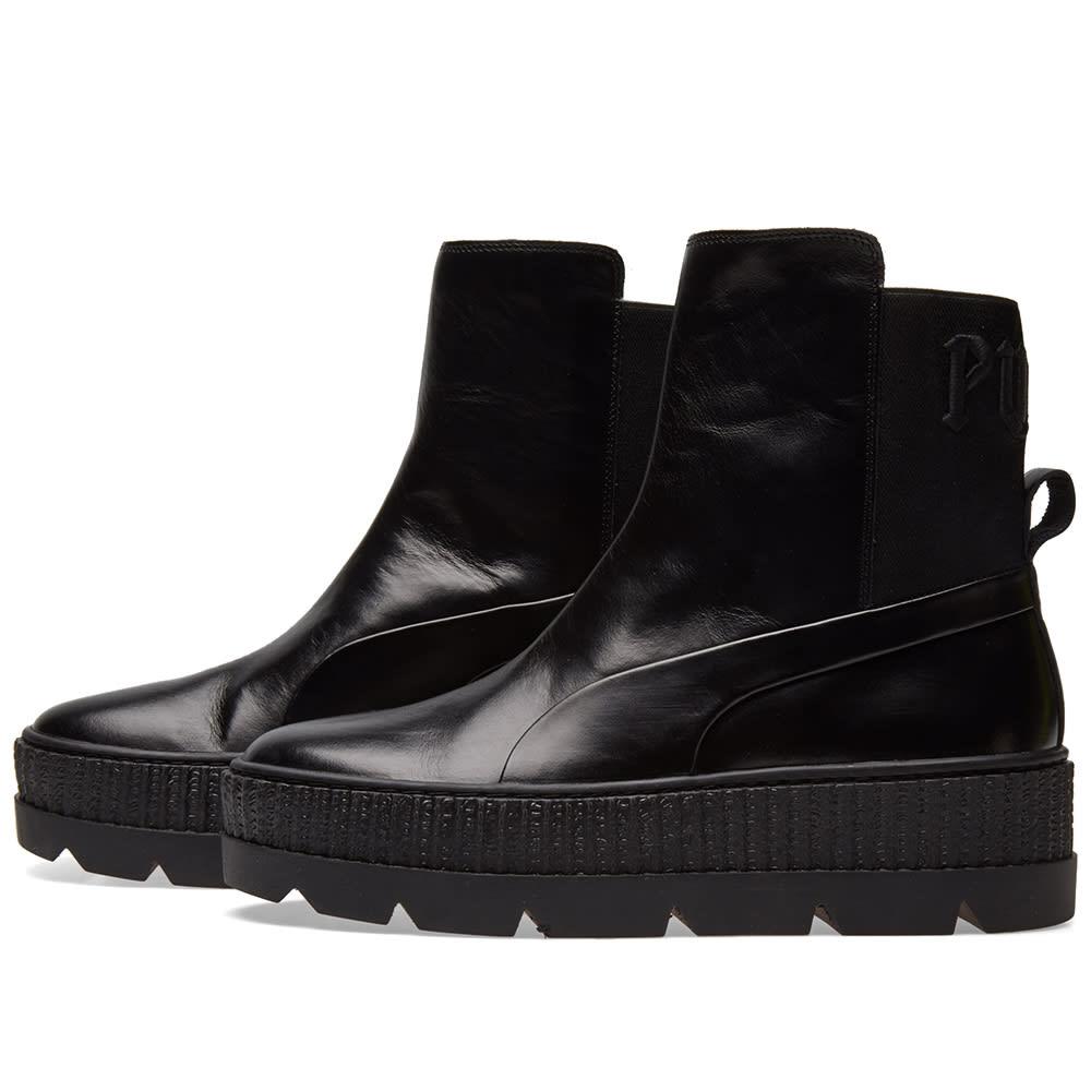 0845b415943 Puma x Fenty by Rihanna Chelsea Sneaker Boot Puma Black
