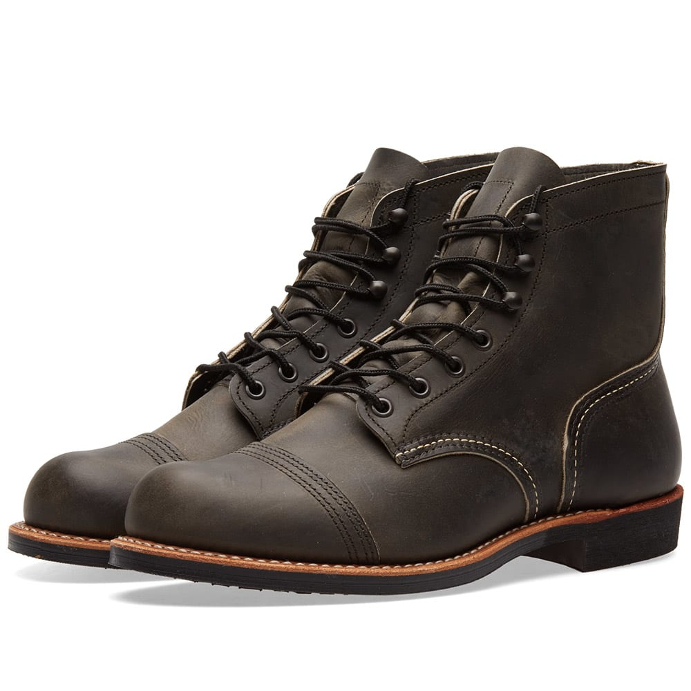 """RED WING 8086 HERITAGE 6"""" IRON RANGER BOOT"""