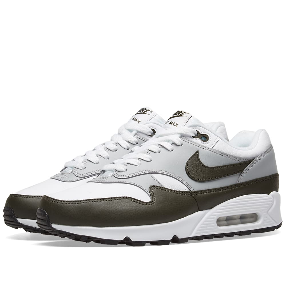 Available Now: Nike Air Max 901 White and Cargo Khaki Black