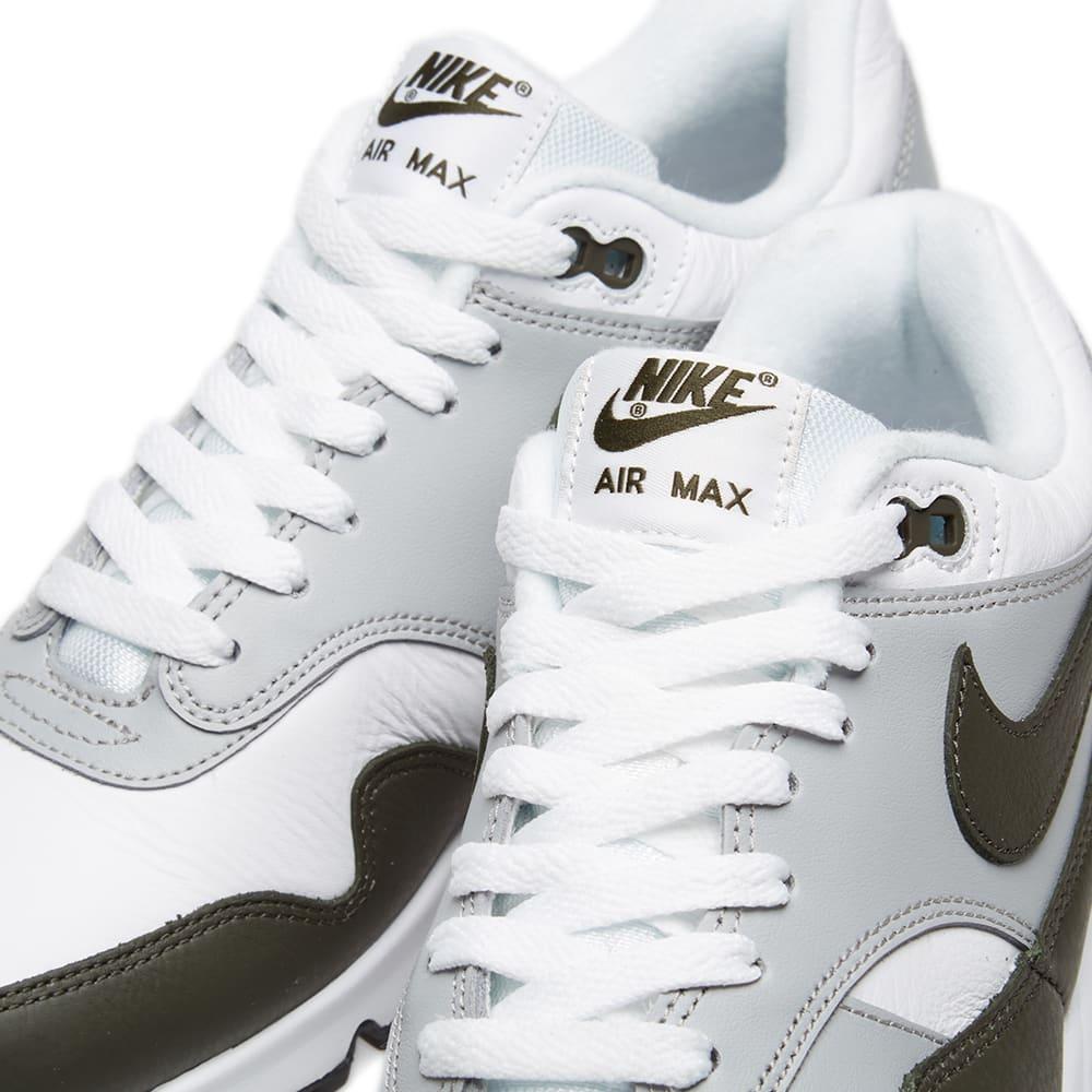 official photos 7bd82 5f9ef Nike Air Max 90 1 White, Cargo Khaki   Black   END.
