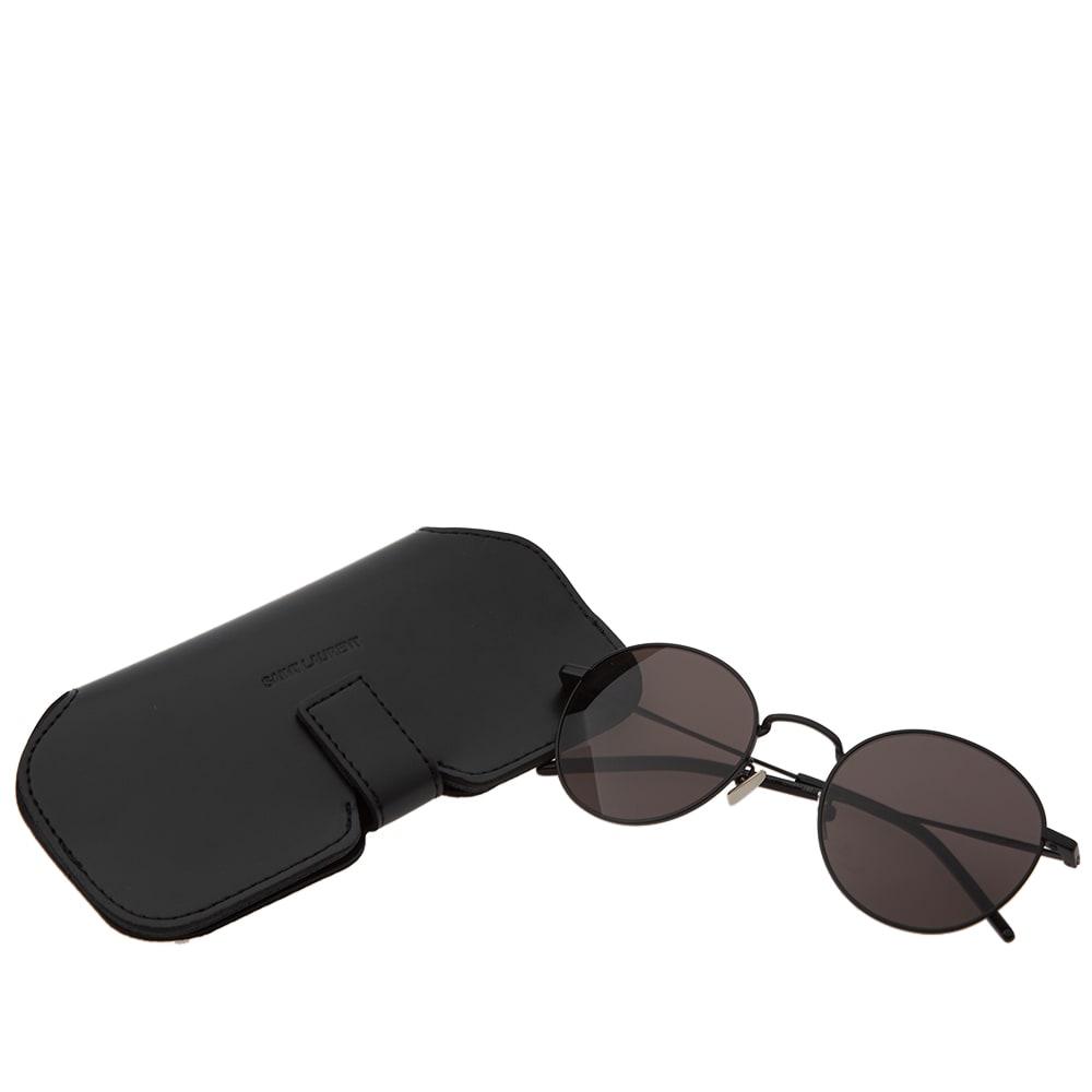 faac0f5c0d8 Shop Saint Laurent Sl 250 Sunglasses In Black
