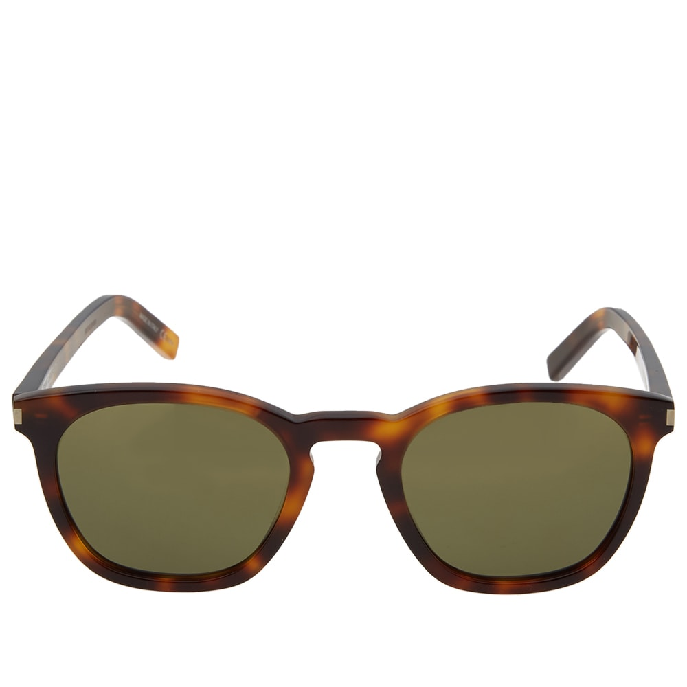 5b6b58003baa3 Saint Laurent SL 28 Sunglasses Havana   Green