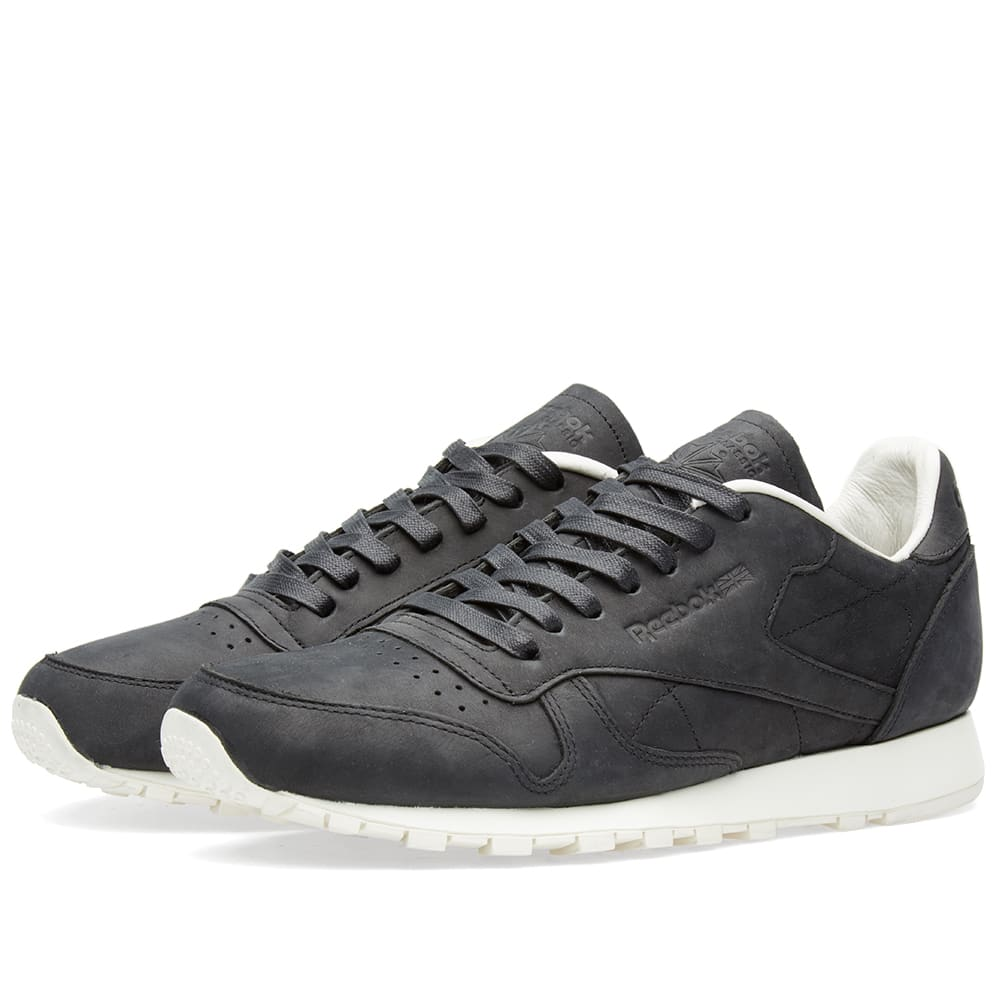 hot sale online 8afd4 d579e Reebok Classic Leather Lux PW Black, Beige   Chalk   END.