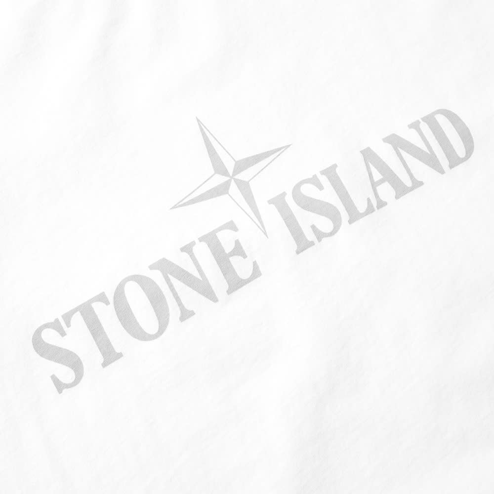 stone island institution logo tee white. Black Bedroom Furniture Sets. Home Design Ideas