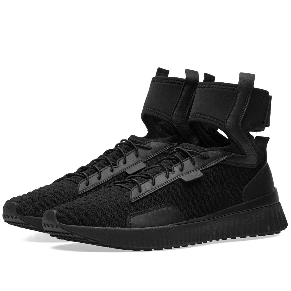 puma fenty trainers black