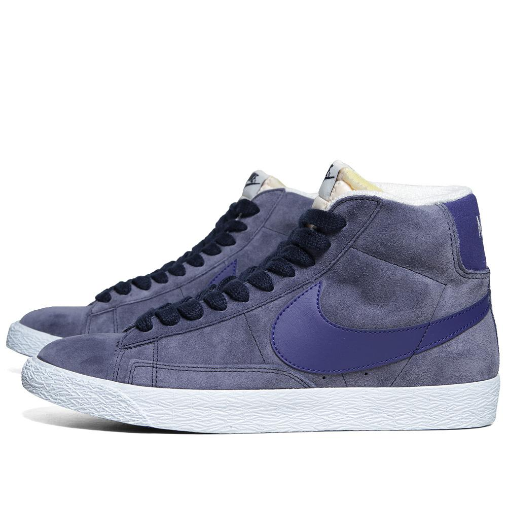 new style 86de9 d00ce Nike Blazer Mid Suede VNTG Obsidian   Deep Royal Blue   END.